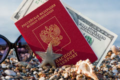 Still traveling with a Russian passport Royalty Free Stock Photography
