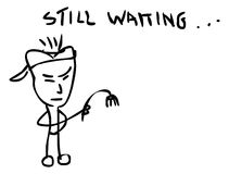 Still Waiting Clip Art