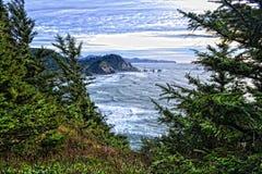 Stilla havet HDR Royaltyfria Foton