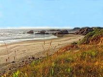 Stilla havet HDR Arkivfoto