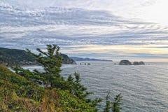 Stilla havet HDR Arkivbild