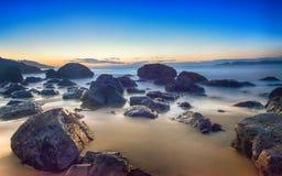 Stilla havet San Francisco arkivbilder