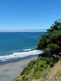 Stilla havetShoreline, Oregon kust Arkivbilder
