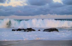 Stilla havetsikt i Los Cabos Mexico arkivbilder
