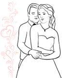 Stilla kramar royaltyfri illustrationer