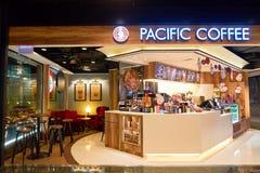 Stillahavs- kaffe Royaltyfria Bilder