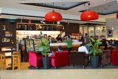 Stillahavs- kaffe Arkivbild