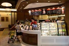 Stillahavs- kaffeinre Royaltyfri Fotografi