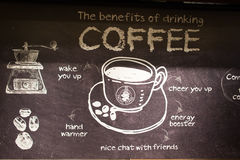Stillahavs- kaffeinterio Arkivfoto