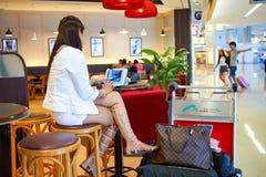 Stillahavs- kaffekafé Royaltyfria Bilder