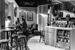 Stillahavs- kaffekafé Royaltyfri Bild