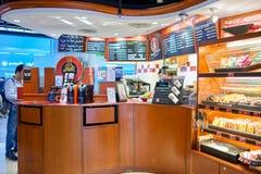 Stillahavs- kaffekaféinre Royaltyfria Bilder