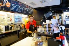 Stillahavs- kaffekaféinre Arkivbild