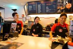 Stillahavs- kaffekaféinre Royaltyfri Bild