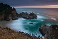 Stillahavs- kustlinje Fotografering för Bildbyråer