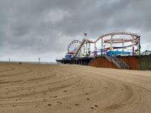 Stillahavs- parkera Santa Monica Arkivbild