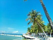 Stillahavs- semesterorter Cebu Arkivfoto