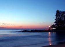 Stillahavs- soluppgång Royaltyfri Fotografi