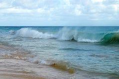 Stillahavs- vågor Royaltyfri Fotografi