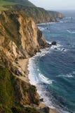 Stillahavskusten i stora Sur, Kalifornien Arkivfoton