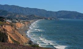 Stillahavskusten Pacifica California Arkivbilder