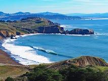 Stillahavskustenstrand i Kalifornien Royaltyfri Fotografi