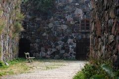 Stille Binnenplaats Stock Foto's