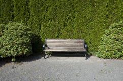Stille hoekbinnenplaats Stock Foto