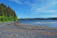 Stille Inham in Alaska royalty-vrije stock foto