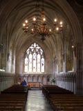 Stille kerk Stock Foto's