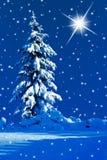Stille nacht Royalty-vrije Stock Afbeeldingen
