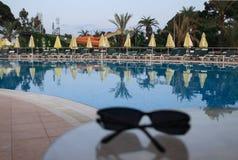 Stille pool stock foto