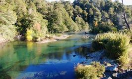 Stille rivier Stock Foto's