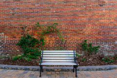 Stille stedelijke oase Royalty-vrije Stock Afbeelding