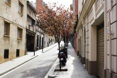 Stille straat Stock Fotografie