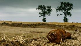 Stille Zeugen von WW1 um Ypres lizenzfreie stockbilder