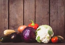 Stilleben av grönsaker Arkivbilder