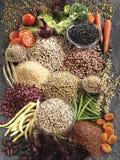 Stilleben av många grönsaker royaltyfri foto