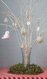 Stilleben för vit jul för vinter Arkivfoto