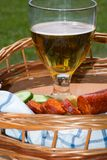 Stilleben med öl Arkivfoton
