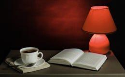 Stilleben med en kopp te Arkivfoton