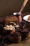 Stilleben med kaffe Royaltyfri Bild