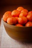 Stilleben med mandarins. Royaltyfria Foton