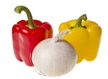 Stilleben med nya grönsaker Arkivfoto