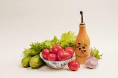 Stilleben med tomater fotografering för bildbyråer