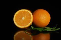 Stillebenapelsin, apelsin Arkivbild