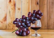 Stillebenrött vin Royaltyfri Bild