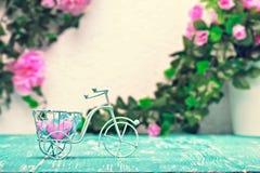 Stillebenromantikerbakgrund Arkivfoto