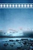 Stiller Ozean Stockbild