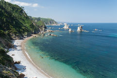 Stiller Strand, Spanien Stockfoto